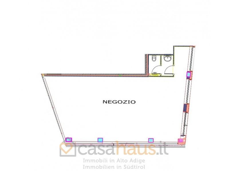 BOLZANO - GENERICA FIRMIAN / VIA RESIA NEGOZIO VENDITA