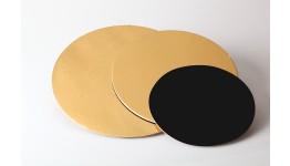 Tavolette e dischi (neri e dorati)